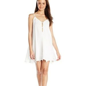Volcom Sparks Fly White Lace Dress